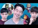 """Реакция корейцев на клип """"Маша и Медведь"""" Корейские парни"""