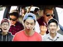 """Реакция корейцев на клип """"Alex Sparrow - Сумасшедшая """" Корейские парни"""