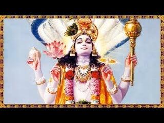 Видение - как работают мантры, Нрисимха защищает от порчи а Шри Лакшми дает благо...