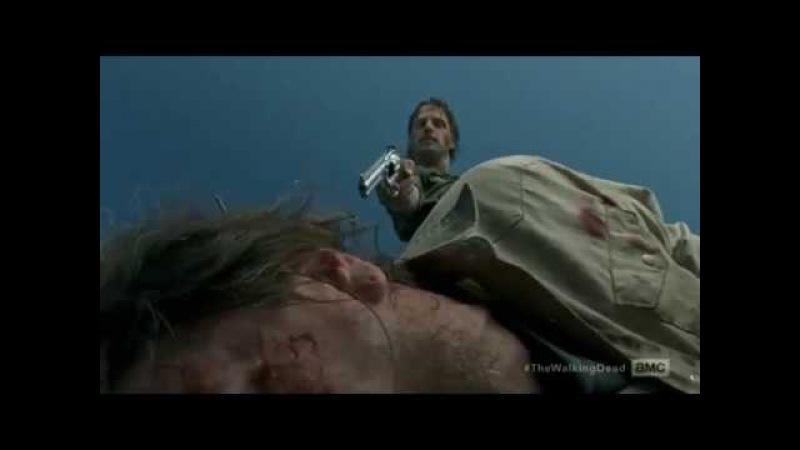The Walking Dead 8x05 Rick And Daryl With Dying Savior Ходячие мертвецы рик и Дэрил Спасители Ниган 8 5