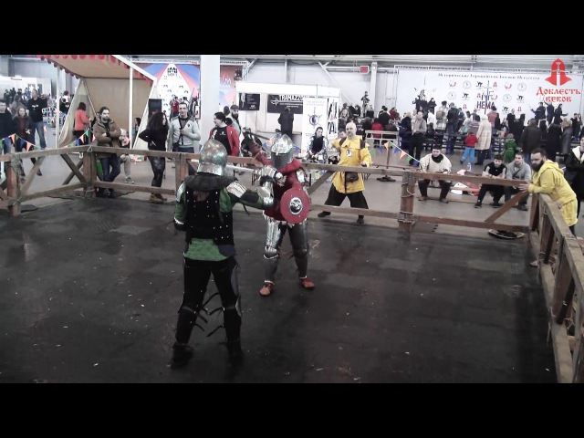 Russia St Petersburg Рекон 2017 buckler and sword Кохвакко vs Вьюнова 6fight