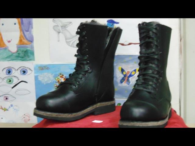 Делаем зимние берцы Сталкер \ Making super warm winter boots