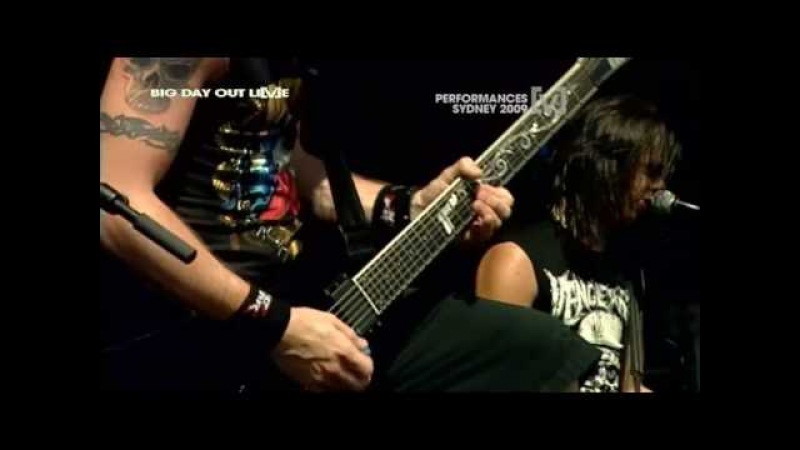 Bullet For My Valentine - Waking The Demon(live) Big Day Out 2009