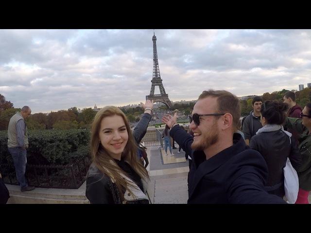 Бонжур, Париж! Милая француженка. Эйфелева башня, Лувр, Помпиду (БуЛайф| BuLife)