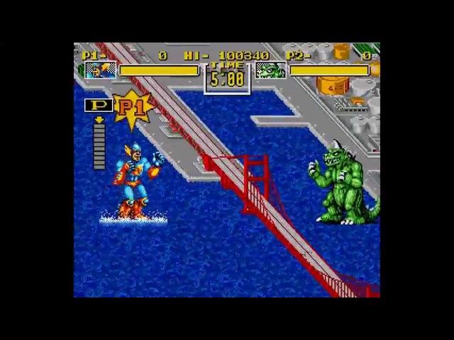 King of the Monsters ... (Sega Genesis)