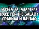 Борьба За Галактику. Общие правила и начало игры 4K. Race For The Galaxy.