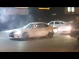 Burnout Lexus LS | Лексус ЛС жгет резину