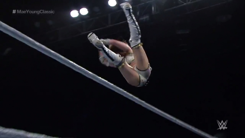 (Music Version) Kairi Sane All Diving Elbow Drops - Mae Young Classic 2017