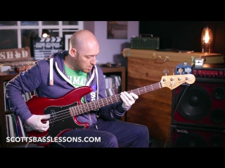 _All Funk Blues_ - Academy Play-along ___ Scotts Bass Lessons