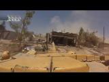 Сирия. Аль Кабун. Бой танкиста со спайпером и   гранатометчиком боевиков.