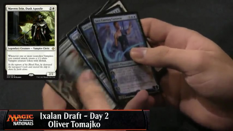 U.S. Nationals, Oliver Tomajko, Two Jace on Draft Pack 1 Pick 2