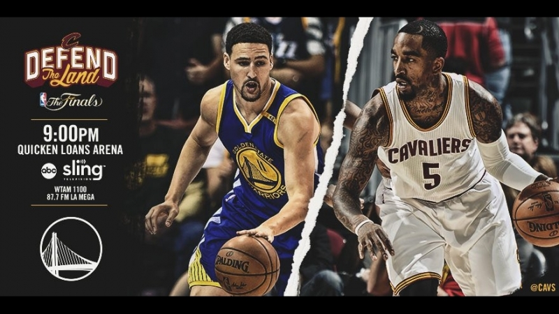 Game 4: Cleveland Cavaliers vs Golden State Warriors on Quicken Loans Arena 09.06.2017
