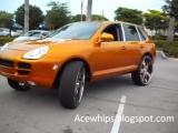 AceWhips.NET- Porsche Cayenne S on 30 Asantis- C2C Customs