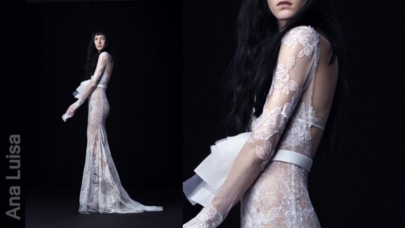 Свадебные платья Веры Вонг (Vera Wang) из коллекции осень-зима 2016-2017