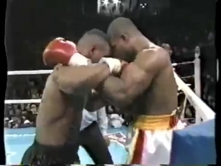 Mike Tyson VS Razor Ruddock 1 Highlights