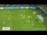 Легия - Астана 1:0. Обзор матча.