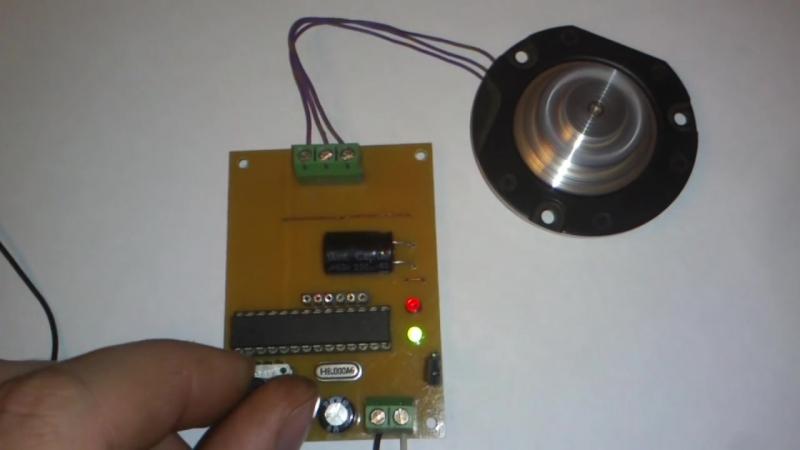 Управление бесколлекторным двигателем постоянного тока