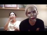 Хосок: нельзя смеяться, когда делаешь маску