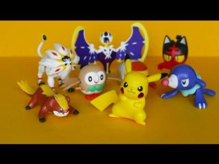 Покемоны и Хелло Китти в Хэппи Мил!