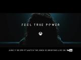 "Xbox Project Scorpio Teasing ׃ ""Feel True Power"""