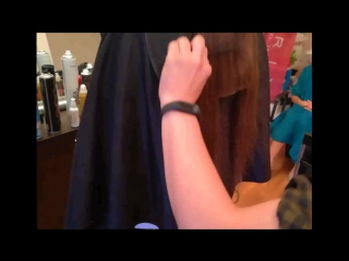 женская стрижка в одну длину