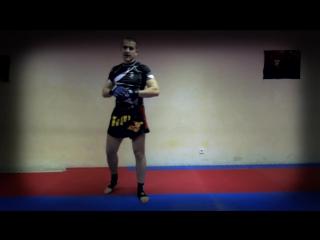 Тайский бокс на улице самоучитель - Как научиться драться. Нырок с ударом