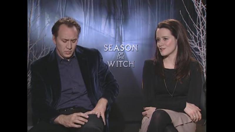 2011 › Интервью с Джейком Гамильтоном в рамках промо-тура фильма «Время ведьм»