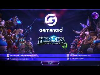 Прямая трансляция THE HEROES OF THE STORM GLOBAL CHAMPIONSHIP от Gamanoid 22.01.17