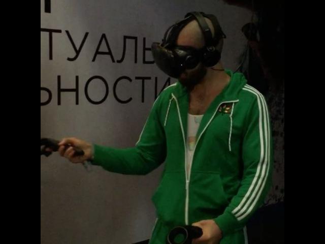 Виртуальная реальность HTC VR