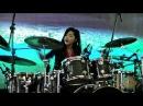 WAKA WAKA Metal Version Frog Leap Studios Drum cover by Nur Amira Syahira