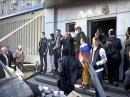 Владимир Струк возле захваченного здания СБУ