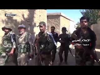 Сирийский город Хатл после освобождения сирийской армией
