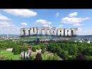 4K Stuttgart - Tour with the DJI OSMO and the DJI Phantom 4 Part 2