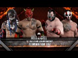 WFW Hell in a Cell - The WolfPack vs S.E.S. Tag Team Championship