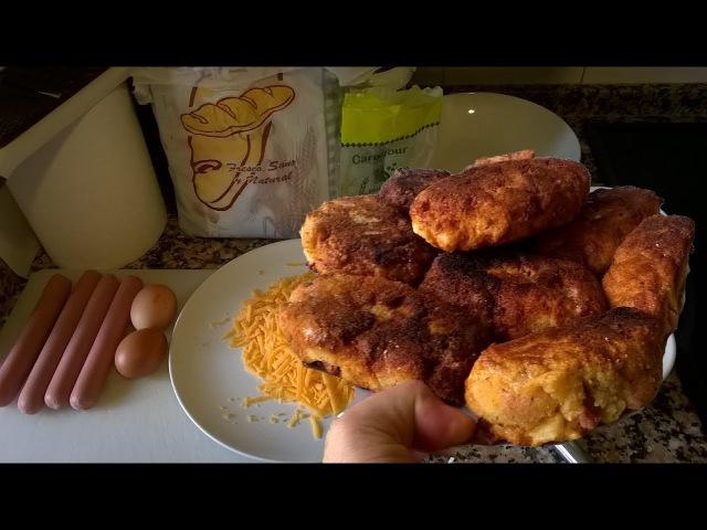 Как приготовить котлеты из сосисок и сыра