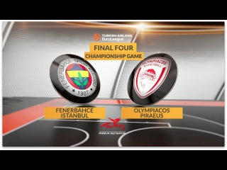 Championship Game Highlights: Fenerbahce Istanbul-Olympiacos Piraeus
