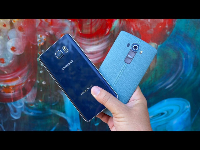 Galaxy Note 5 vs LG G4: What Makes A Phablet?