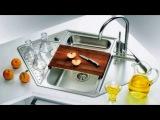 Угловая мойка для кухни Интересное решение при нехватке пространства