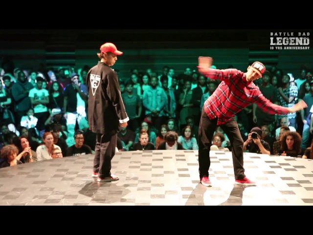 J.ROBIN vs SAMSAM - Battle BAD 2k17 LEGEND - POPPING TOP 16