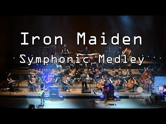 Iron Maiden Symphonic Medley - Fear of The Dark, The Number of The Beast - Run to The Hills.