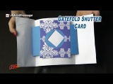 Gate Fold Shutter Card Tutorial  Valentine's day Card  How to make  JK Arts 878