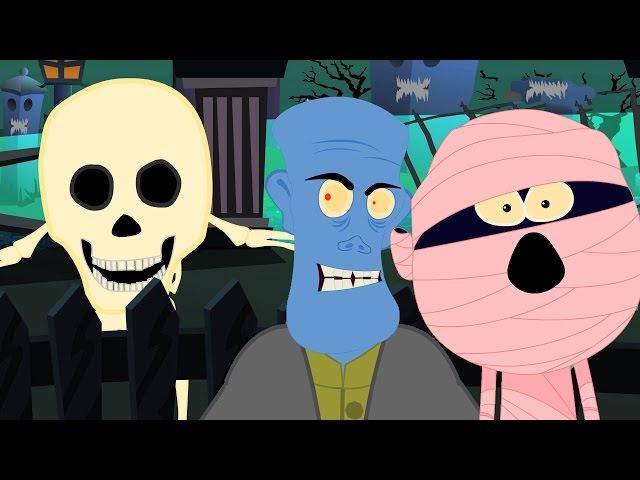 Алло Это Хэллоуин | Страшные детского стишка | Дети песня | Hello Its Halloween | Scary Rhyme