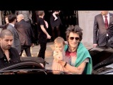 EXCLUSIVE Rolling Stones Keith Richards, Ronnie Wood, Charlie Watts out of their hotel on their way