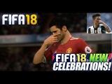 МАСКА В FIFA 18 ★ НОВЫЕ ПРАЗДНОВАНИЯ ГОЛА ФИФА 2018 ★ FIFA 2018 NEW CELEBRATIONS