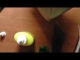 Тюльпан из фоамирана или пластичной замши(часть 1)