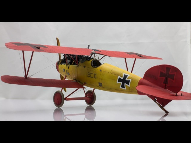 132 Wingnut Wings Albatros D.V | Step by Step Scale Model Aircraft Build