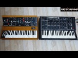Moog Minimoog vs. ПОЛИВОКС Polivoks Synthesizer - sound battle