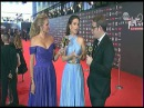 Natalia Oreiro entrevista alfombra roja Premios Platino para TNT 22.07.2017