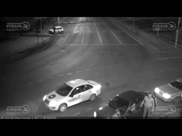 ДТП на ул Ставропольская и ул Старокубанская 08 11 2017