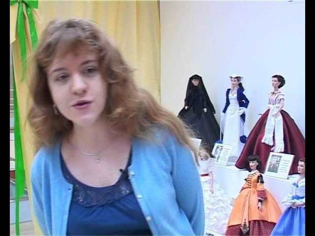 Выставка коллекционных кукол в 2012 году